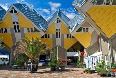 Cube Houses, Visit Rotterdam