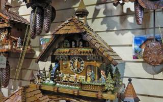 Cuckoo Clock with Running Water and Solar Power, Breisach Shore Excursion