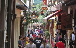 Drosselgasse Pedestrian Alley, Visit Rüdesheim