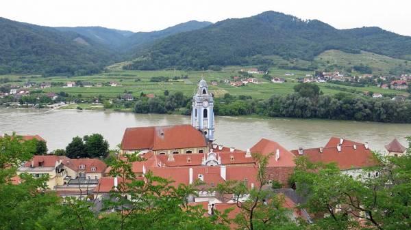 Dürnstein Abbey, Danube River, Visit Dürnstein, Austria