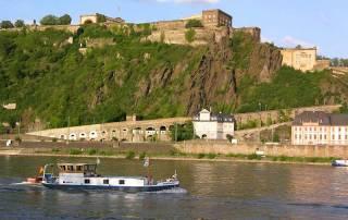 Ehrenbreitstein Fortress, Rhine River, Visit Koblenz