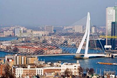Erasmus Bridge, Visit Rotterdam