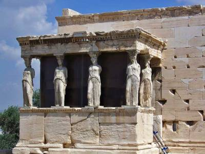 Erechtheion beside the Parthenon, Visit Athens