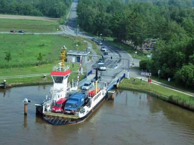 Ferry Across Kiel Canal, Visit Kiel