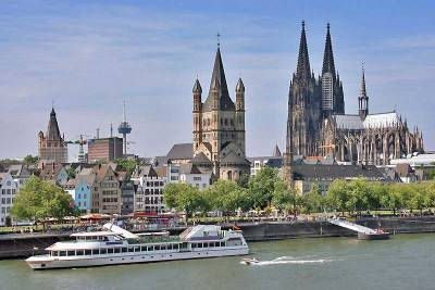 Gross Sankt Martin, Cologne Cathedral, Rhine River, Visit Cologne