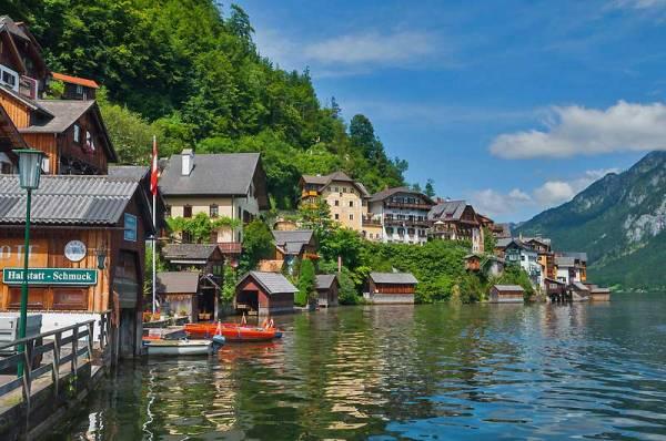 Hallstatt near Salzburg