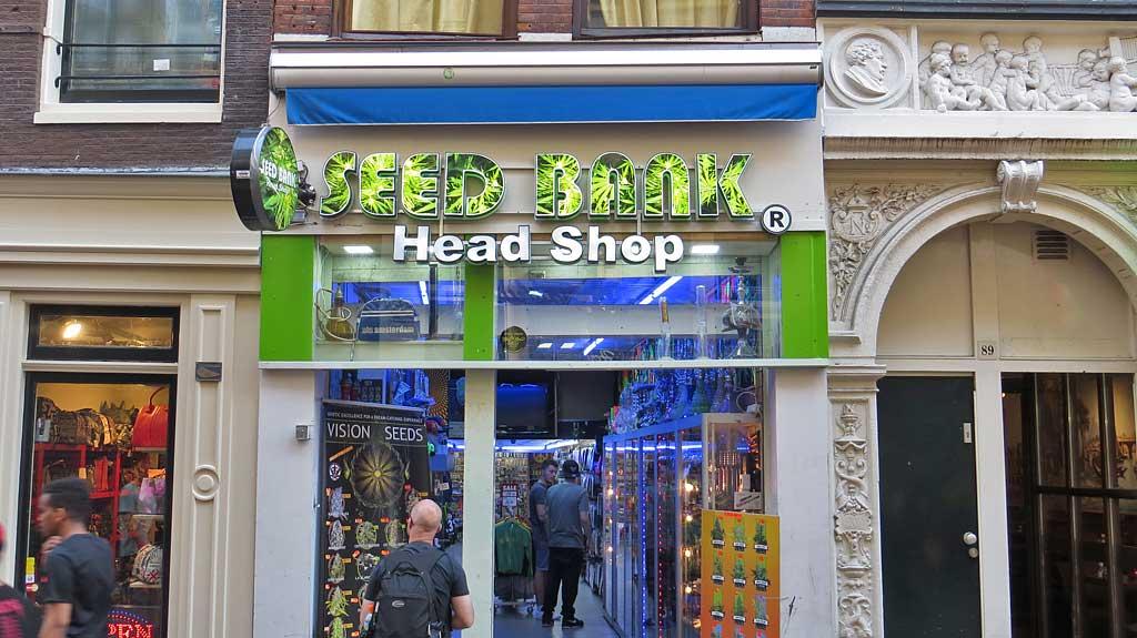 Head Shop, Visit Amsterdam