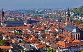 Heidelberg Old Town, Rhine River Cruise