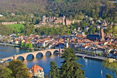 Heidelberg Old Town and Castle, Visit Heidelberg