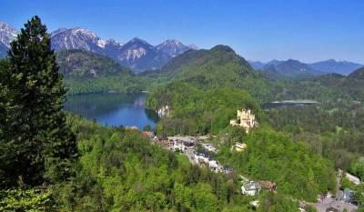 Hohenschwangau, Austrian Alps, Visit Füssen