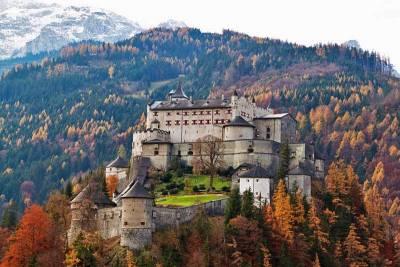 Hohenwerfen, Werfen Castle near Salzburg