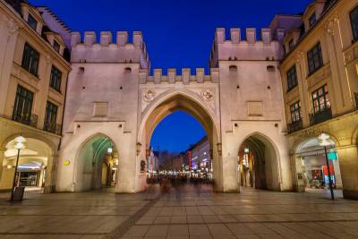 Karlstor Medieval Old Town Gate, Visit Munich