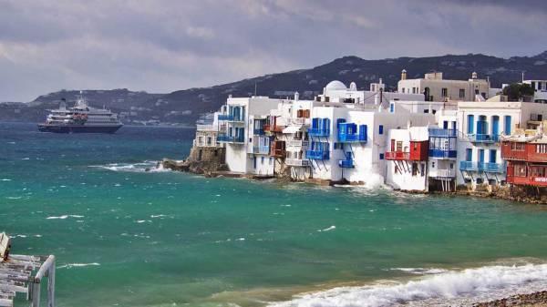 Little Venice, Chora, Mykonos Shore Excursion