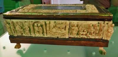 Margravine Swanhilde's 11th Century Altar, Melk Abbey Museum, Visit Melk