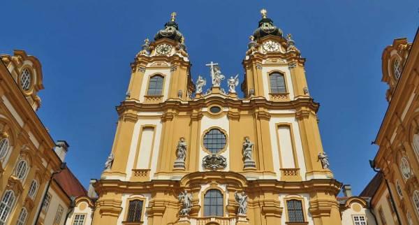 Melk Abbey Church Towers, Visit Melk