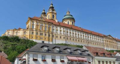 Melk Abbey from Melk Village, Visit Melk