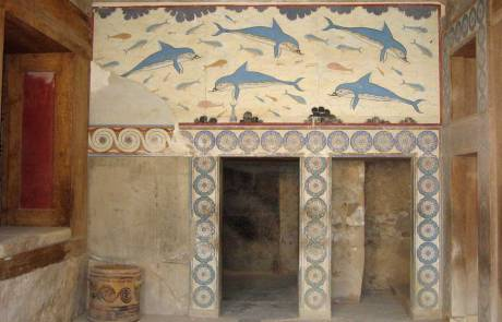 Minoan Art Replica Palace of Knossos, Heraklion Shore Excursion