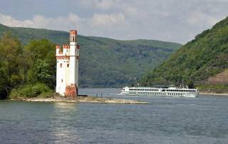 Mouse Tower, Rhine River, Romantic Rhine
