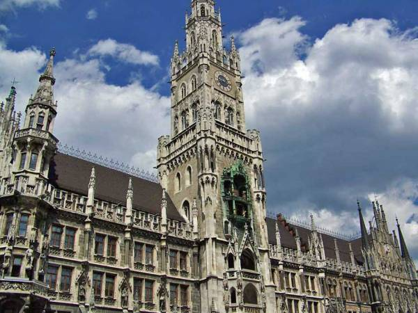 New Town Hall, Marienplatz, Visit Munich