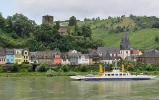 Niederheimbach and Heimburg Castle, Romantic Rhine