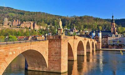 Old Bridge, Neckar River, Visit Heidelberg