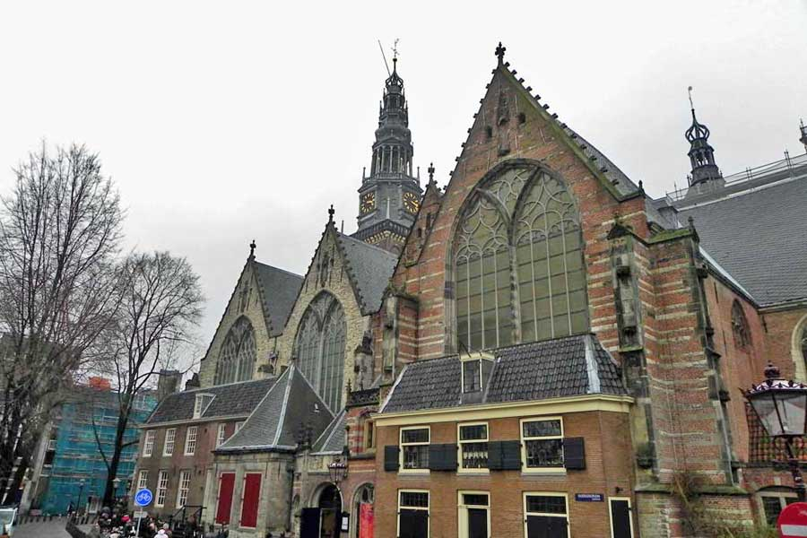 Old Church, Oude Kerk, Visit Amsterdam