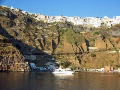 Old Port, Skala Pier, Visit Santorini