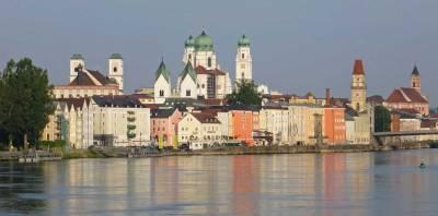 Passau from Danube River, Visit Passau