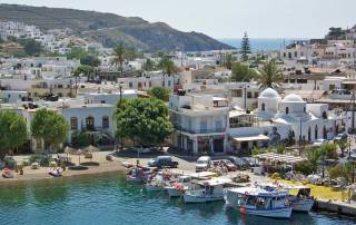Patmos Port, Skala