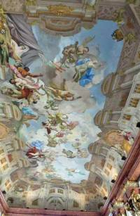 Paul Troger Ceiling, Marble Hall, Melk Abbey