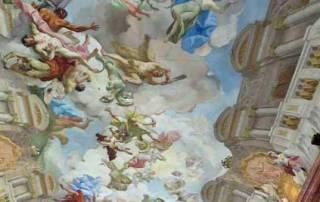 Paul Troger Ceiling, Marble Hall, Melk Abbey