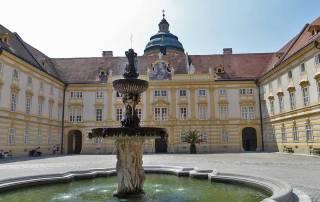 Prelate's Courtyard, Visit Melk Abbey