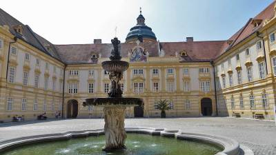 Prelate's Courtyard, Visit Melk Abbey
