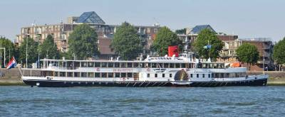 Raderstoomboot De Majesteit Paddle Steamer, Visit Rotterdam