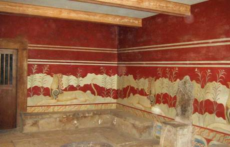 Replica of Minoan Art, Palace of Knossos, Heraklion Shore Excursion