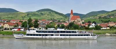 River Cruise Boat, Weissenkirchen, Wachau Valley