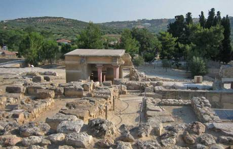 Ruins, Palace of Knossos, Heraklion Shore Excursion