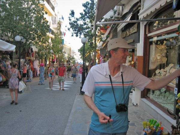 Shopping, Agios Nikolaos Visit