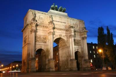 Siegestor Victory Gate, Visit Munich