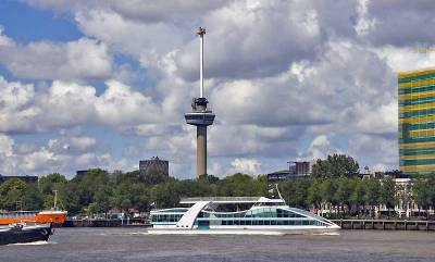 Spido Harbour Tour Boat and Euromast, Visit Rotterdam