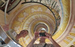 Spiral Staircase, Visit Melk Abbey