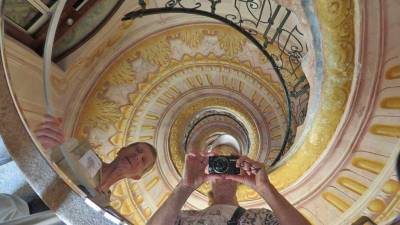 Spiral Staircase, Visit Melk Abbey