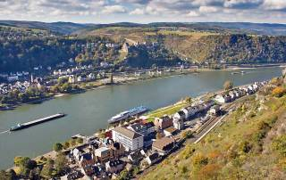 St Goar and St Goarshausen, Romantic Rhine