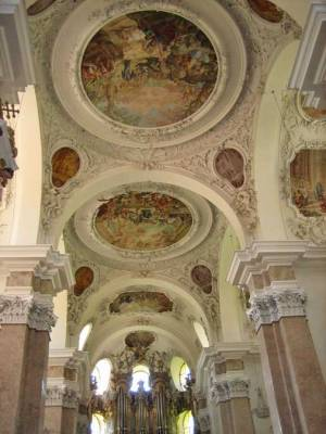 St Mang's Abbey Ceiling, Visit Füssen