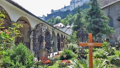 St Peter's Cemetery, Visit Salzburg