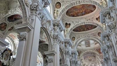 St Stephen's Cathedral Interior, Visit Passau