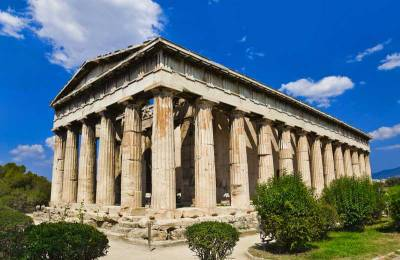 Temple of Hephaestus, Ancient Agora, Visit Athens