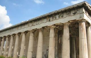 Temple of Hephaestus, Athens Visit