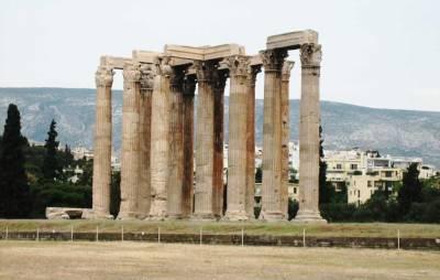 Temple of Olympian Zeus, Athens Visit