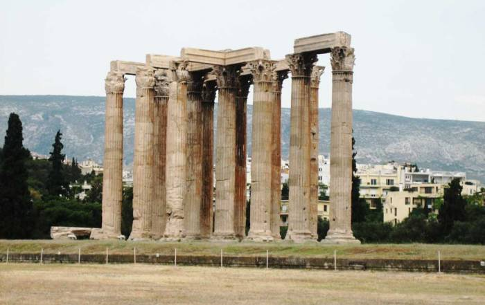 Temple of Olympian Zeus, Athens Visit